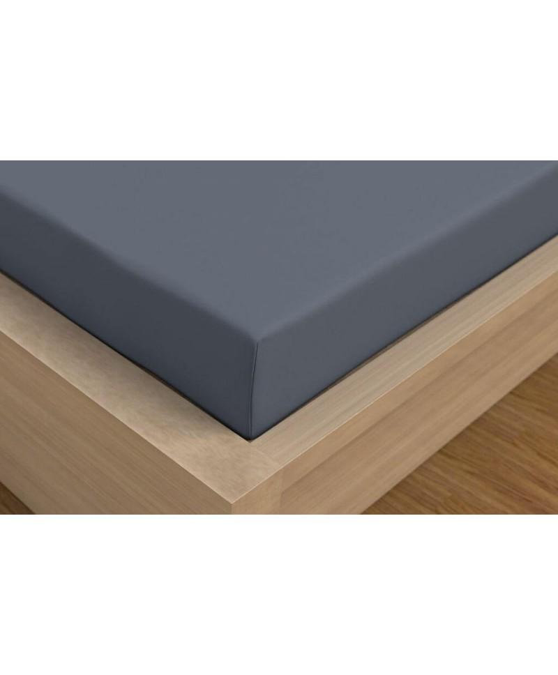 ceske-satenove-prosteradlo-luxury-collection-90x200cm-tmave-sede