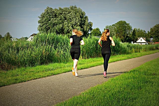 kondiční běh žen